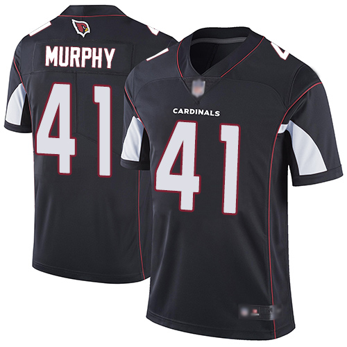 Cardinals #41 Byron Murphy Black Alternate Youth Stitched Football Vapor Untouchable Limited Jersey
