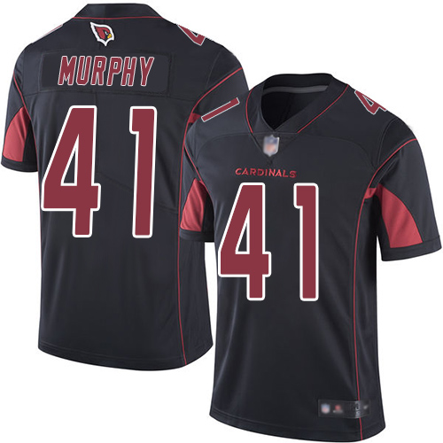 Cardinals #41 Byron Murphy Black Youth Stitched Football Limited Rush Jersey