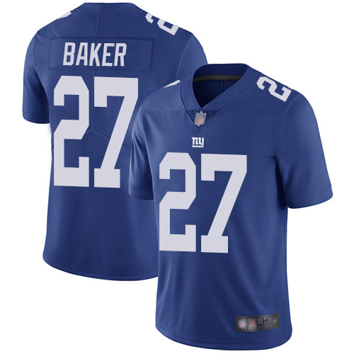 Giants #27 Deandre Baker Royal Blue Team Color Youth Stitched Football Vapor Untouchable Limited Jersey