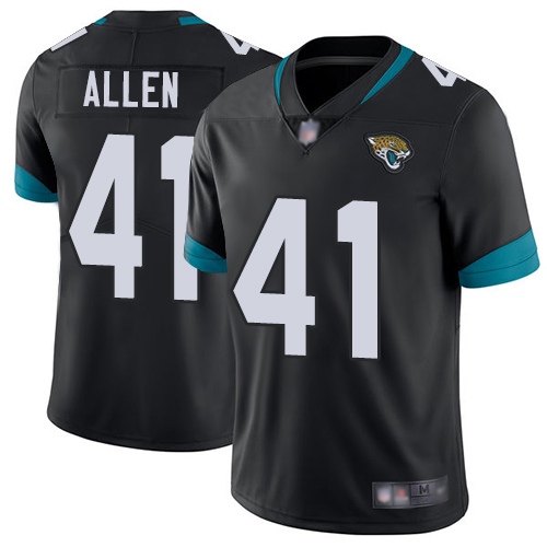 Jaguars #41 Josh Allen Black Team Color Youth Stitched Football Vapor Untouchable Limited Jersey