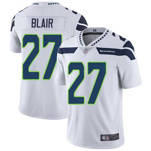 Seahawks #27 Marquise Blair White Youth Stitched Football Vapor Untouchable Limited Jersey