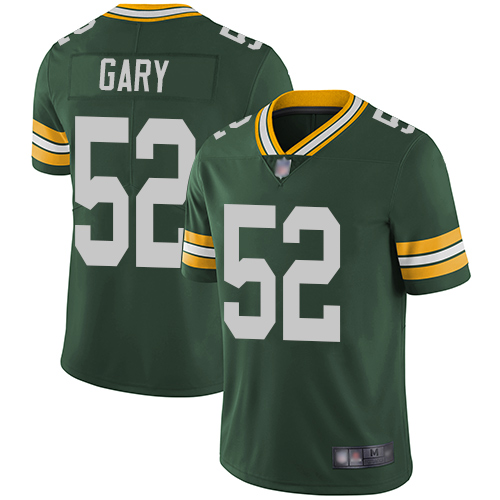 Packers #52 Rashan Gary Green Team Color Youth Stitched Football Vapor Untouchable Limited Jersey