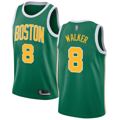 Celtics #8 Kemba Walker Green Basketball Swingman Earned Edition