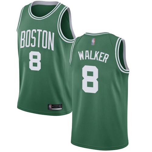 Celtics #8 Kemba Walker Green Basketball Swingman Icon Edition