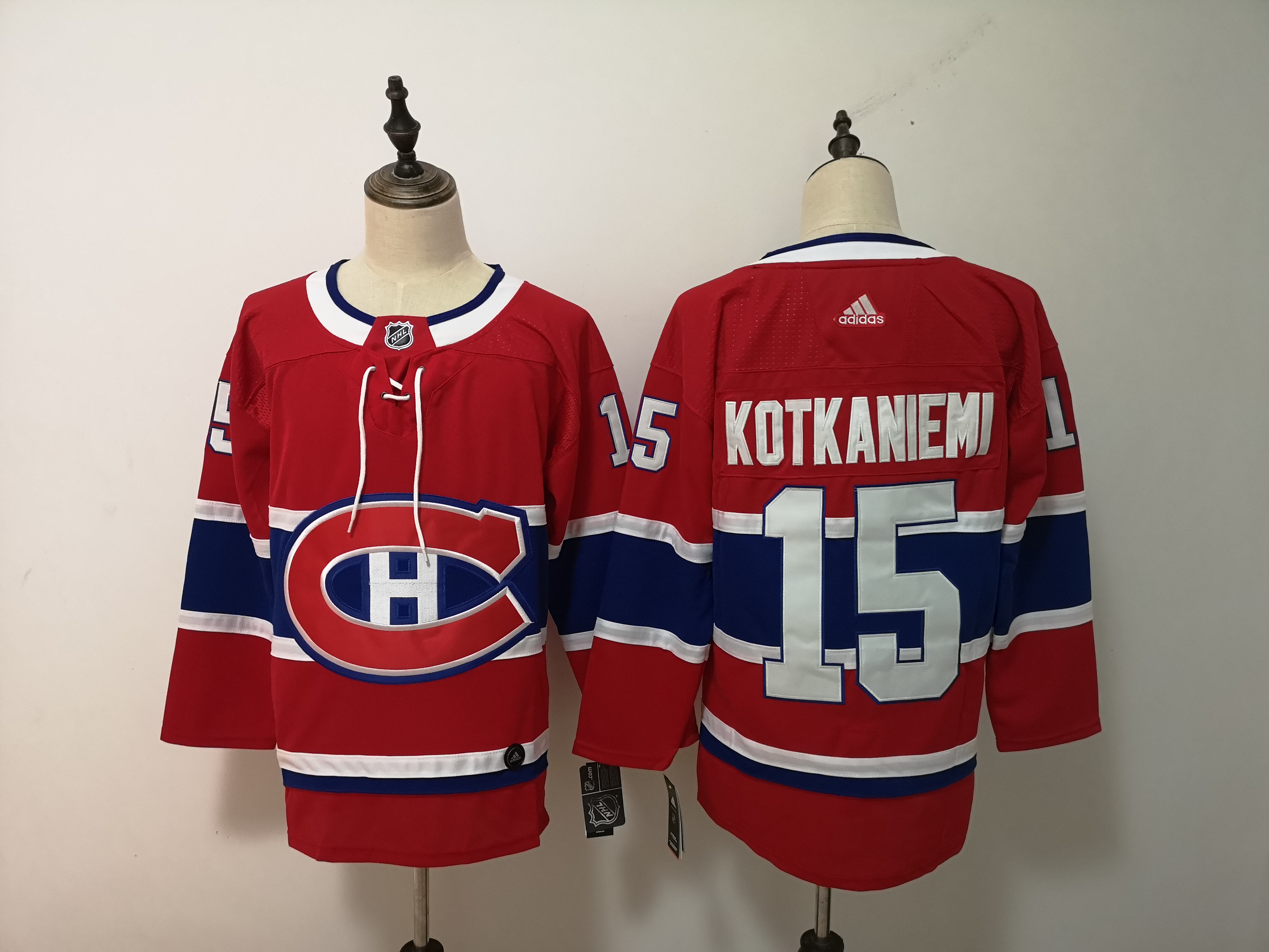 Canadiens 15 Jesperi Kotkaniemi Red Adidas Jersey