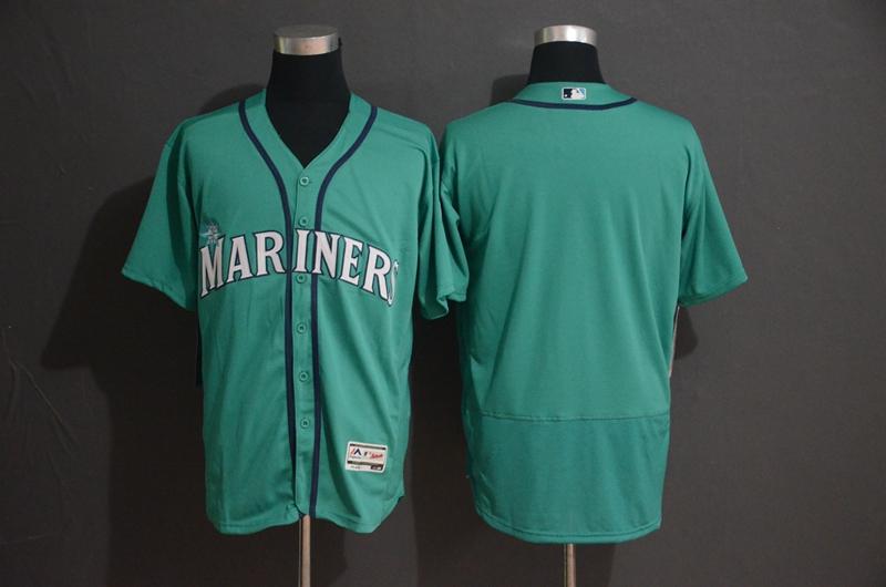 Mariners Blank Green Flexbase Jersey