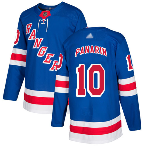 Rangers #10 Artemi Panarin Royal Blue Home Authentic Stitched Hockey