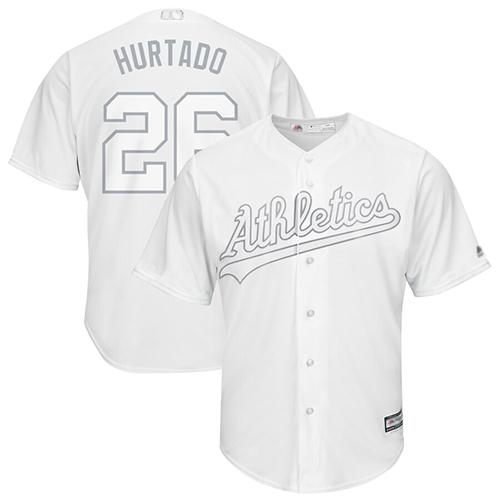 Athletics #26 Matt Chapman White Hurtado Players Weekend Cool