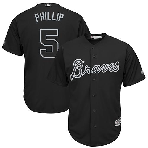 Braves #5 Freddie Freeman Black Phillip Players Weekend Cool