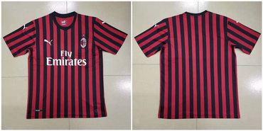 2019-20 AC Milan Home Thailand Soccer Jersey