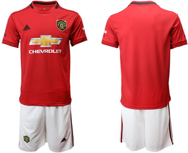 2019-20 Manchester United Home Soccer Jersey