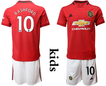 2019-20 Manchester United 10 RASHFORD Youth Home Soccer