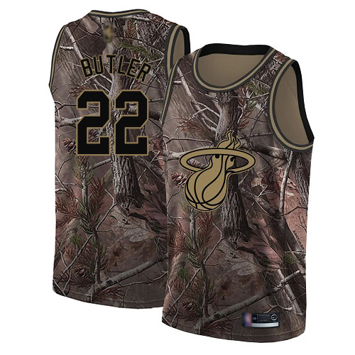 Heat #22 Jimmy Butler Camo Basketball Swingman Realtree