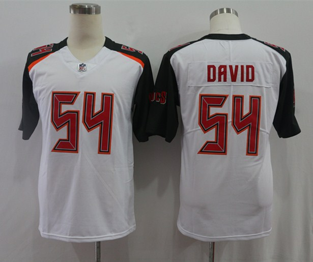 Nike Buccaneers 54 Lavonte David White Vapor Untouchable Limited Jersey