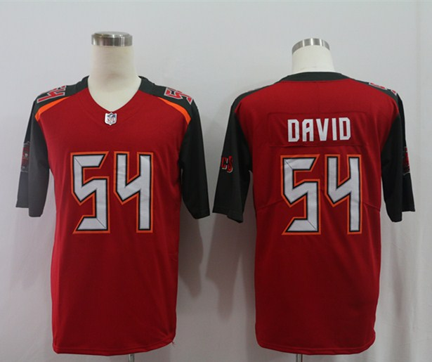 Nike Buccaneers 54 Lavonte David Red Vapor Untouchable Limited Jersey