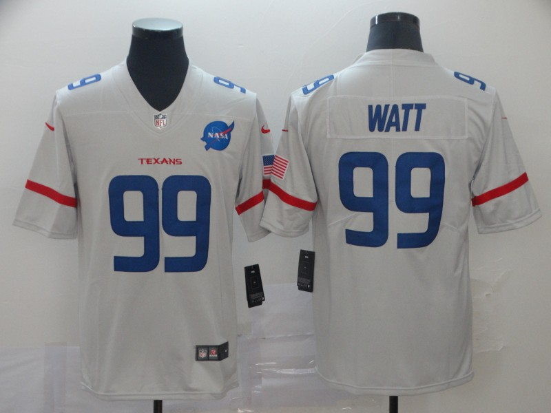 Nike Texans 99 J.J. Watt White City Edition Vapor Untouchable Limited Jersey