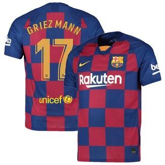 2019-20 Barcelona 17 GRIEZMANN Home Soccer Jersey