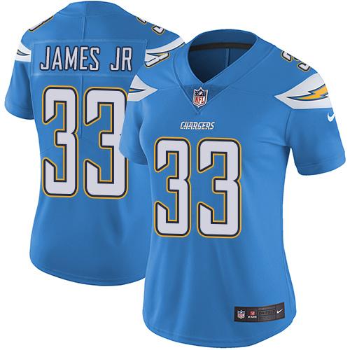 Nike Chargers #33 Derwin James Jr Electric Blue Alternate Women's Stitched NFL Vapor Untouchable Limited Jersey