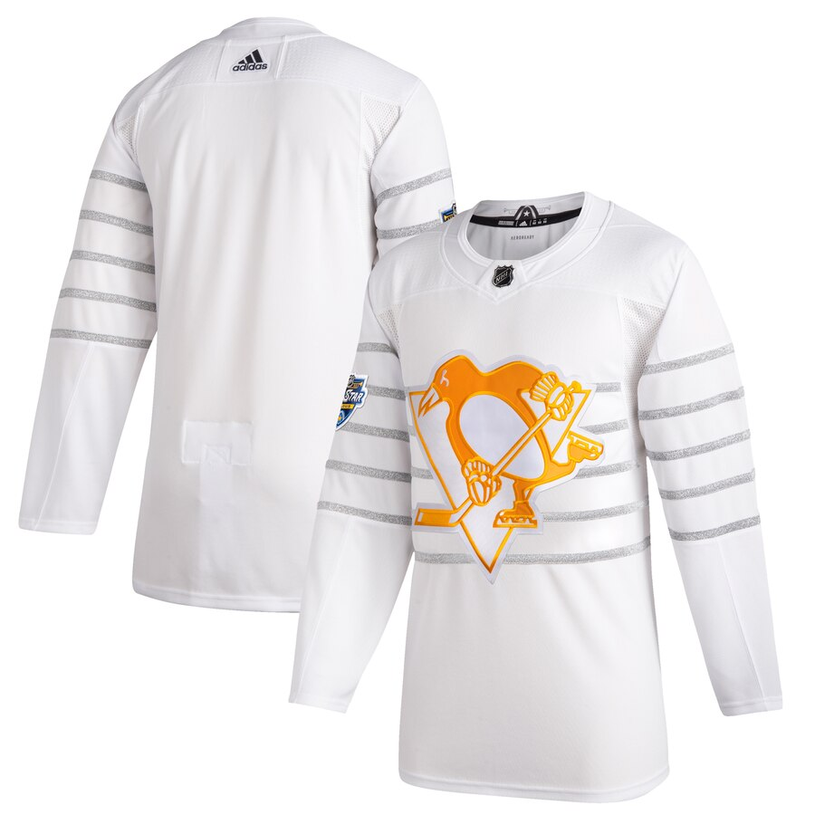 Penguins Blank White 2020 NHL All-Star Game Adidas Jersey
