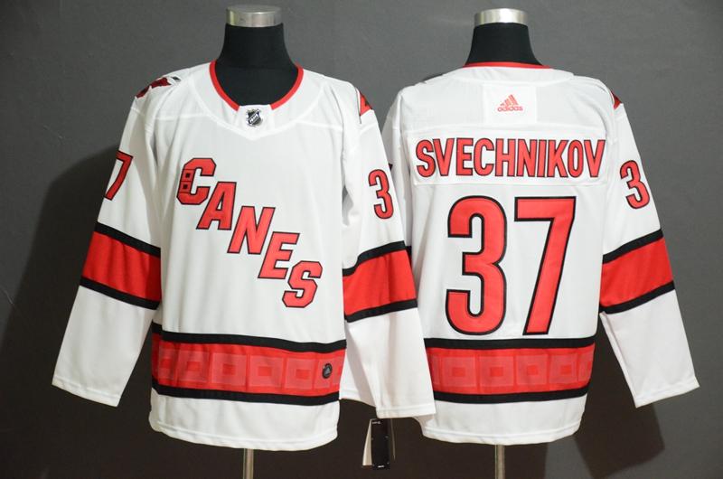 Rangers #37 Andrei Svechnikov White Adidas Jersey