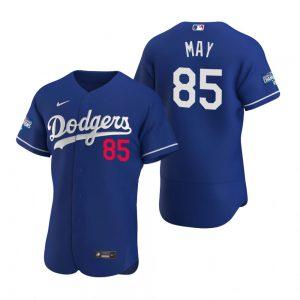 Los Angeles Dodgers #85 Dustin May Royal 2020 World Series Champions MLB Jersey