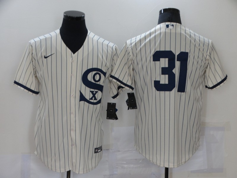 Men's Chicago White Sox #31 Liam Hendriks 2021 Cream Field of Dreams Cool Base Stitched Nike MLB Jersey
